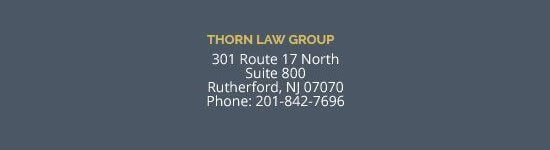 New Jersey Office Contact Details